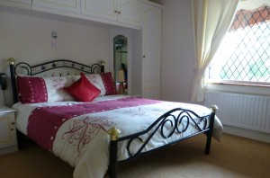 Bedroom at Plantation Lodge B&B, Cavan